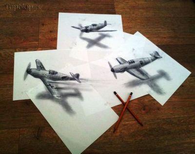 نقاشی های خوشگل سه بعدی - سری دوم